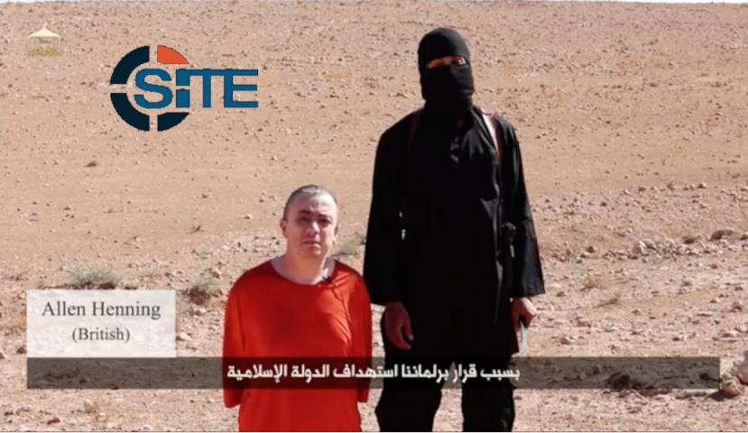 Islamic State Beheads Alan Henning in Video