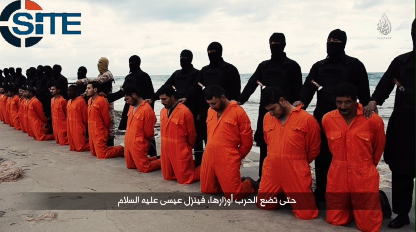 IS Releases Video Showing the Beheading of Kidnapped Egyptian Christians in Libya