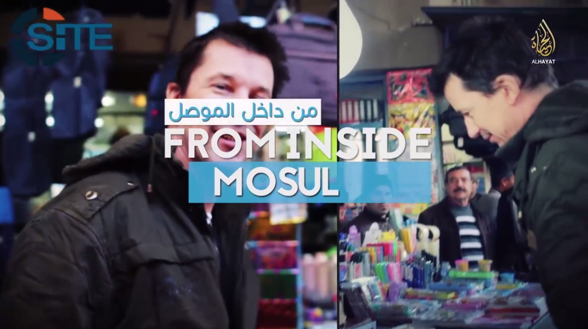 IS Releases Video of British Captive John Cantlie Giving a Tour Inside Mosul