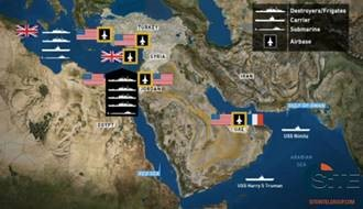 Jihadist Social Media Accounts Distribute Article Profiling US - Map of us bases in the middle east