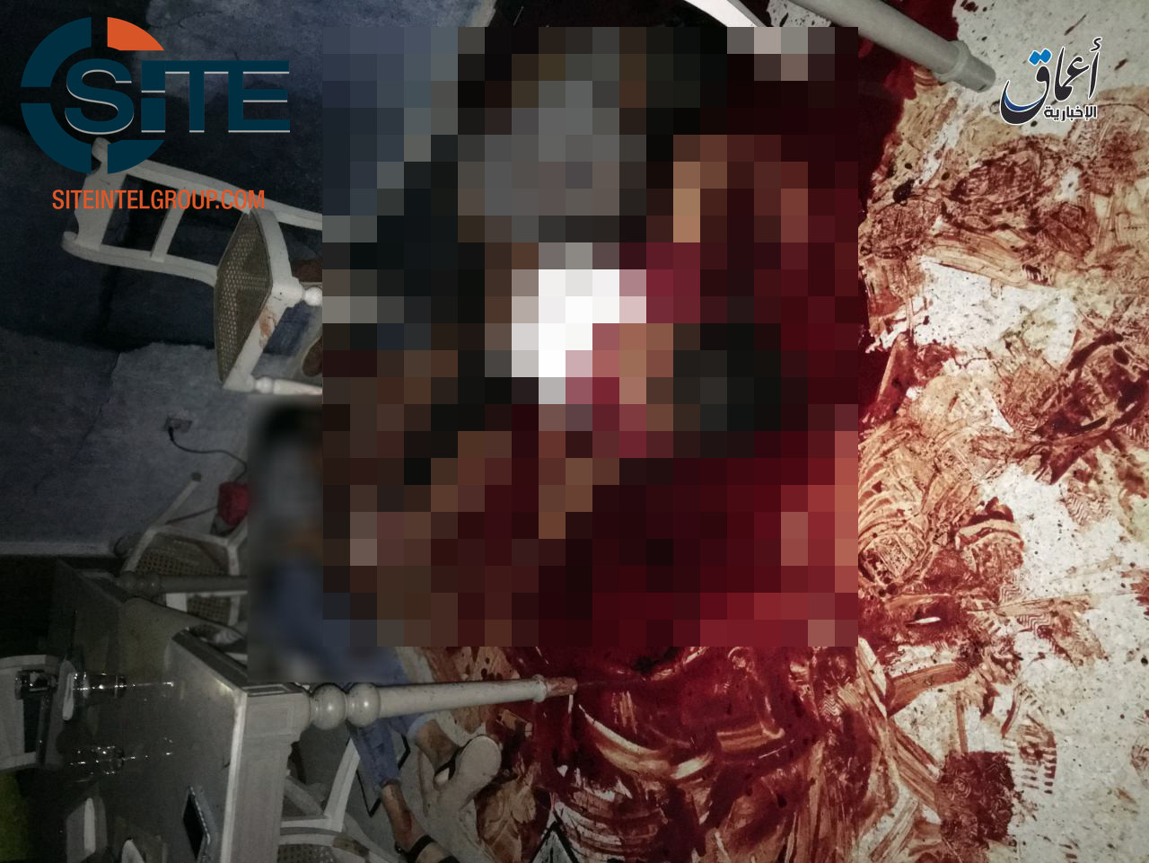 Inside Küchennews ~ is''amaq news gives photos of bloody scene inside