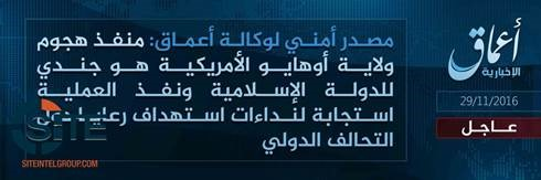 (Amaq News Agency, via SITE Intelligence Group)