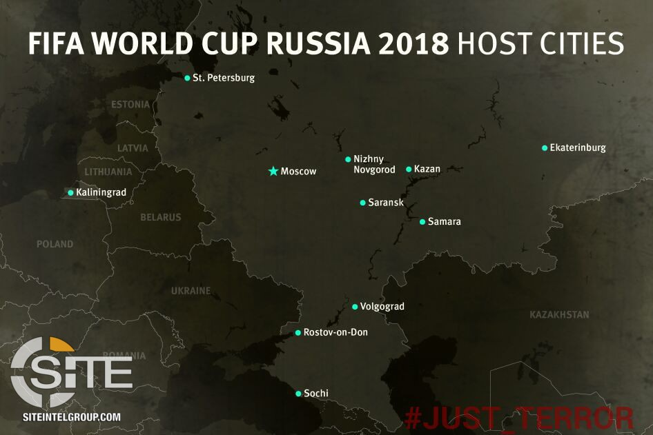 Pro is telegram channel distributes map of host cities for 2018 fifa pro is telegram channel distributes map of host cities for 2018 fifa world cup in russia gumiabroncs Choice Image