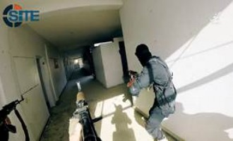 IS Video Shows Fighters Training for Prison Breaks, Raiding Buildings in Homs