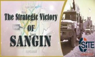 "Afghan Taliban Boasts of ""Strategic Victory"" in Helmand's Sangin District"