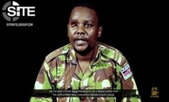 "Shabaab Video Shows Kenyan Soldier as Prisoner, Addresses Government: His Fate ""Lies in Your Hands"""