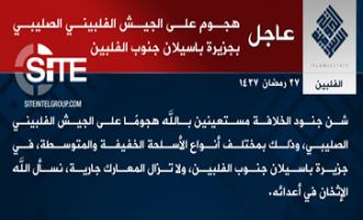 IS Claim Attack on Philippine Army