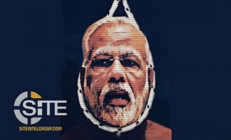 "AQH-Affiliate Threatens ""Days of Bloodbath,"" Features India's Prime Minister in Poster"