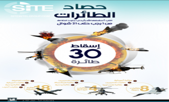 IS Claims Downing 30 Aircraft in al-Naba Infographic