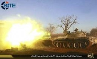 IS Claims Three Suicide Bombings in Kobani, Attack with Tanks