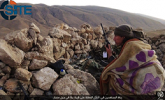 IS Photo Report Shows Fighters Garrisoned on Mount Sinjar
