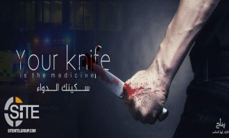 "Pro-IS Jihadists Continue Incitement Campaign, Tell Muslims in West that Knife is ""Medicine"""