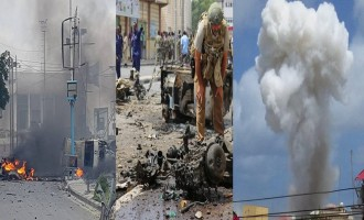 Shabaab Claims 25+ Casualties in 2 Suicide Bombings and Raid at Presidential Palace in Mogadishu, Other Attacks in Capital and Afgoye