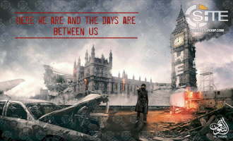IS-linked Group Threatens Big Ben Using Apocalyptic Rendering of the Landmark