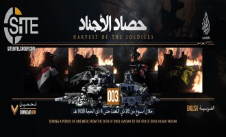 IS' al-Hayat Media Releases 3rd Episode in Statistical Breakdown of IS Operations (August 9-15)