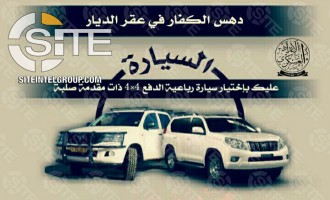 Pro-IS Group Begins Poster Series Advising on Vehicular Attacks