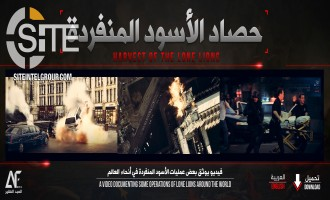 IS-linked Group Promote Lone-Wolf Attacks in Belgium, Canada, and France in Video