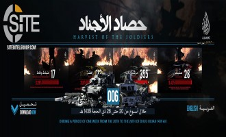 IS' al-Hayat Media Gives Statistical Breakdown of Group Operations (August 30 - September 5)