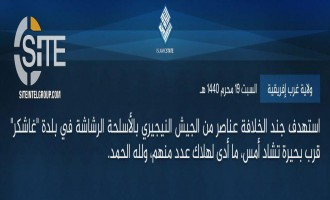 IS' West Africa Province Claims Attack on Nigerian Troops in Gashigar