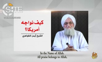 "AQ Leader Zawahiri Advises How to ""Confront"" America on 17th Anniversary of 9/11"