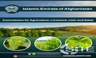 Afghan Taliban Establishes Agriculture and Livestock Department, Encourages Aid Groups and NGOs Contact It