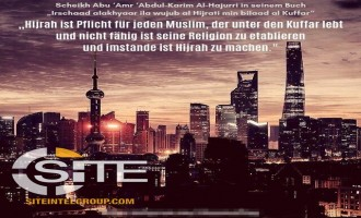 "German Channel Calls Hijrah a Duty for Muslims Worldwide Living Under ""Kuffar"""