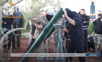 HTS Documents Training Fighters in Using Mortars