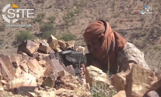 'Amaq Video Shows IS Attack on AQAP Position in al-Bayda'