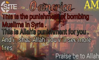 "IS-aligned Group calls California Wildfires a Divine ""Punishment"" for Syria Bombings"
