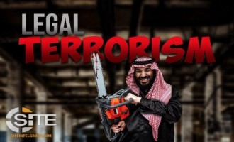 "IS-Linked Group Depicts Saudi Crown Prince Executing Khashoggi to Demonstrate ""Hypocrisy"""