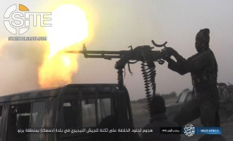 IS' West Africa Province Publishes Photos of Attack on Nigerian Military Position in Damasak