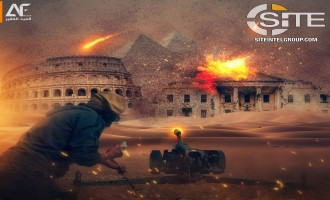 "IS-linked Group Depicts Strike on White House and Colosseum in Threatening to ""Demolish Thrones"""