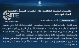 IS' West Africa Province Claims Attacks to Disrupt Nigerian Elections, Killing Over 21 in Clashes and Rocket Strikes
