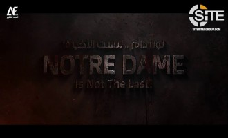 In Video, IS-linked Group Incites Lone Wolves to Burn Churches in France and the West