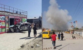 Afghan Taliban Claims Killing 10 in Suicide Bombing on U.S. Convoy in Kabul
