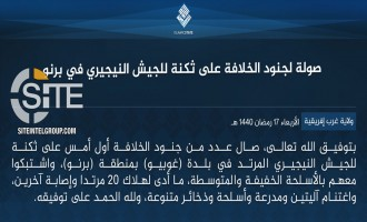 IS' West Africa Province Claims Killing 20 Nigerian Soldiers in Raid in Gubio
