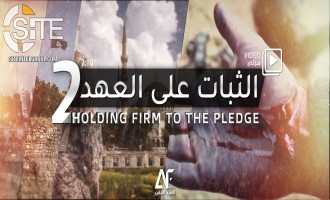 IS-linked Group Encourages Supporters in Video to Hold Firm, Join Training Camps in Iraq
