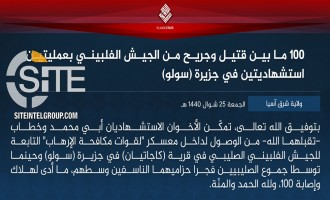 IS' East Asia Province Claims 100 Casualties in 2-Man Suicide Bombing at Anti-Terror Camp in Sulu