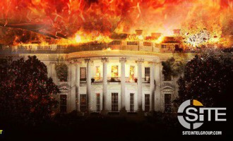 "Depicting the White House and a Cross Ablaze, IS-aligned Group Warns of ""Deadly Strike"""
