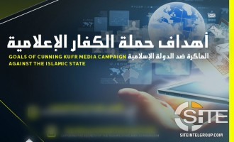 "IS-aligned Group Warns of Objectives of ""Cunning"" Enemy Media Project"