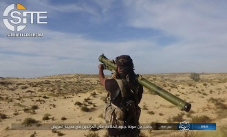 IS' Naba 185 Gives Details of Arish Offensive, Photo from IS' Sinai Province Shows Fighter Holding Man-Portable Shoulder-Fired Rocket
