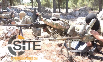 Syria-Based Elite Forces Group Releases Video and Photos of RPG and PKC Weapons Training