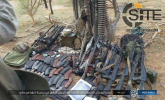 ISWAP Releases Photos of Slain Malian Soldiers and War Spoils