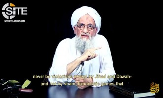 "Zawahiri Reminds of Kashmir Cause and Advises Fighters, Calls U.S.-Pakistan Relationship an ""Alliance of Thieves"""