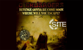 "IS-Linked Group Threatens ""Crusaders"" with ""Slaughter,"" Depicts President Trump Beheaded"
