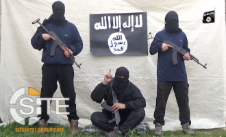 IS Releases First Video from Azerbaijan, Showing Three Fighters Pledging to Baghdadi