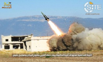 AQ-aligned Ansar al-Tawhid in Syria Collaborates with TIP, Shows Inaugural Launch of Large Missile