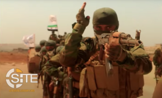 Video and Poster from HTS-affiliate Recruits Fighters for Military Training Camp