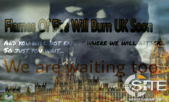 "With Posters Depicting Palace of Westminster and 10 Downing Street in Flames, Pro-IS Group Threatens UK Will ""Burn Soon"""