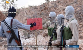 IS Photo Report Documents Training Activities of Fighters in Somalia